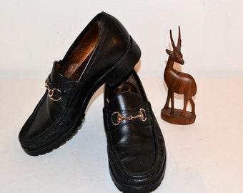 Vintage Gucci Men's Signature Loafer