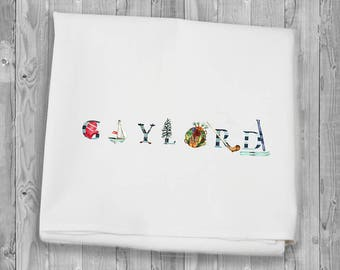 Gaylord Michigan Flour Sack Towels for kitchen and bar