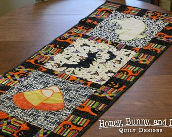Halloween Spooks PDF Table Runner or Wall Hanging Pattern