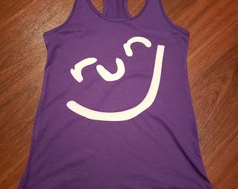 Run smile tank