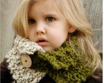 KNITTING PATTERN- Venyce Cowl (Toddler, Child, and Adult sizes)