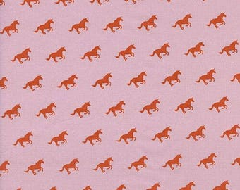 Unicorn Race in Blossom - Cotton + Steel Lawn Quilt -  fabric