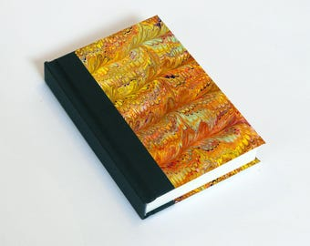 "Sketchbook 4x6"" with motifs of marbled papers - 16"