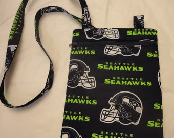 Seattle Seahawk crossbody bag