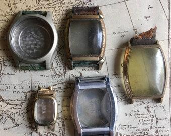 5 Vintage Watch Cases