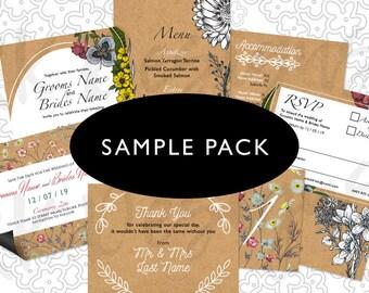 Sample Pack Rustic/Kraft
