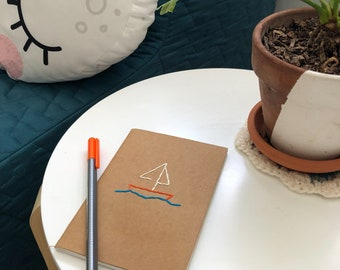 Sail Away Pocket Notebook