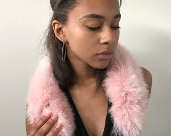Fashion Accessory Collar Headband Snood Natural fur  fox