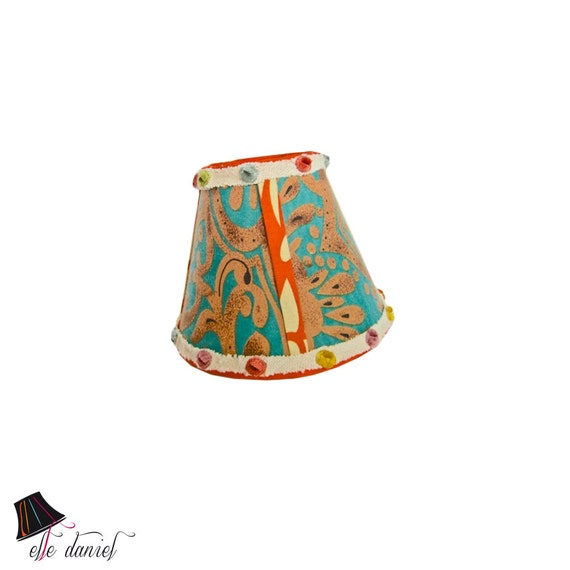 Small lamp shades retro lamp shade unique lamp shades like this item aloadofball Image collections