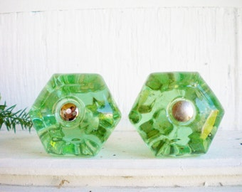 Ordinaire Large Green Depression Glass Drawer Knobs Price For 2 Glass Drawer Pulls Cabinet  Knobs With Hardware Furniture Refinishing Craft Projects