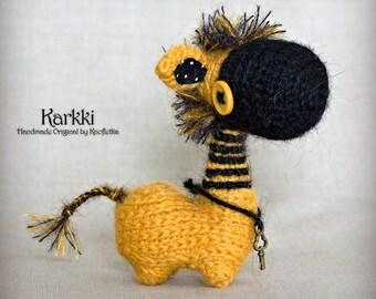 Karkki - Original Handmade Little Donkey/Horse/Collectable/Gift/Charm