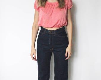 Vintage 1970s Levi's Denim Jeans 25   Levis High Waist Denim Jeans   Levis Denim Jeans   70s Levis Jeans