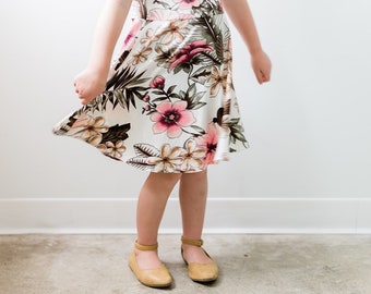 The Shiloh - Girls Floral Dress