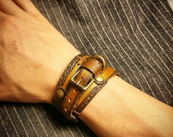 Industrial Multiwrap Bracelet