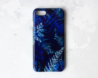 Cyano ferns phone case for iPhone & samsung