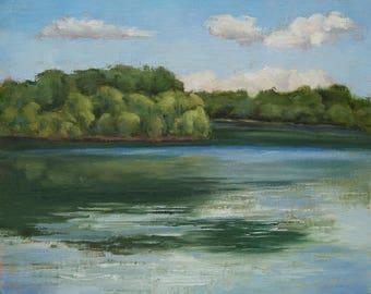 Oil Painting - Original Plein Air Landscape