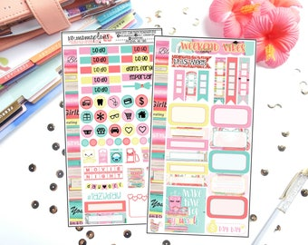 Me Time Personal Sized Kit | Planner Stickers