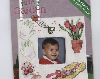 Garden Angel with Watering Can Mugmat Counted Cross-Stitch Kit