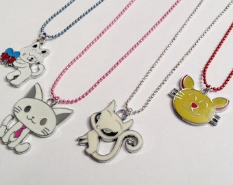 Sale! cute Kitty Cat Theme Necklace