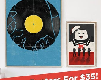 Any Two Posters for 35 Dollars