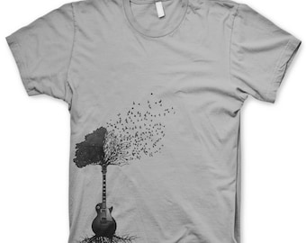 Guitar Tree T Shirt