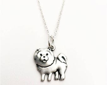 Chow Chow Charm Necklace