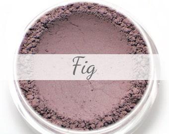 """Eyeshadow Sample - """"Fig"""" - matte purple brown - Vegan Mineral Eye Shadow"""