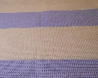 Peachy Lavender Personalized Baby/Infant Blanket