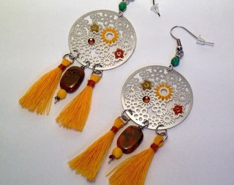 Woven earrings ALTER DO CHAO