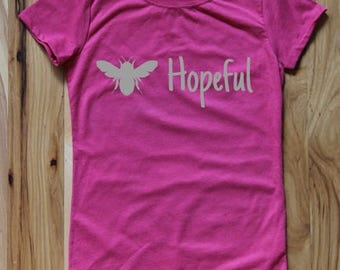 Bee Hopeful Women's and Girl's Tee