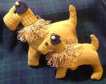 Terrier Dogs Stuffed Animals