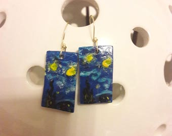 earrings inspired by great artists