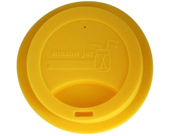Drinking lids for regular mouth Mason jars / sipping lids / make your own Mason jar to-go cup