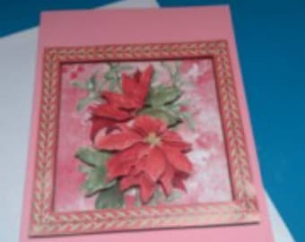 3D 813 hand made greeting card