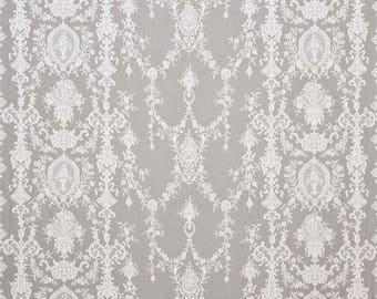 Cotton lace made in the UK 175cm  69 inches wide - Lynda