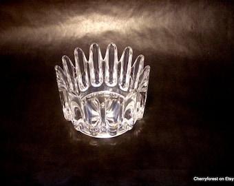Princess  bowl, by Sven Palmqvist for Orrefors Sweden   Modern crystal bowl