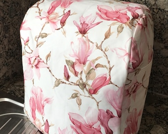 TM5 Pink Magnolia Floral Thermomix Cover