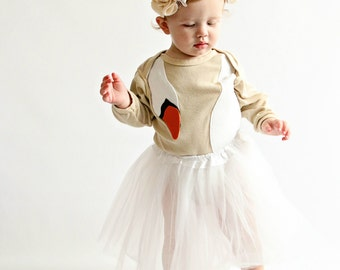 Swan Dress Baby Costume, Bjork Costume, Black Swan Costume, Bird Costume, Funny Baby Costume, Ballerina Costume, Toddler Costume