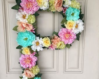 Floral letters - custom to your order!
