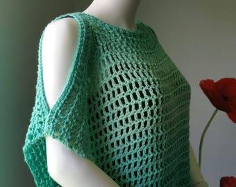 Crochet Tunic Pattern - Coraline's Endless Summer Tunic or crochet coverup pattern