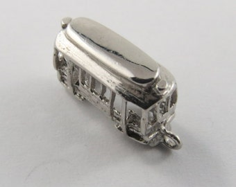 Streetcar Vintage Sterling Silver Charm.