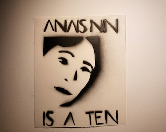 Anaïs Nin is a Ten Mini Poster