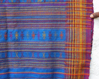 Traditional Handwoven Silk & Wool Stole