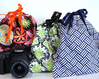 dSLR camera Drop in Bag Pouch Gift for Photographer