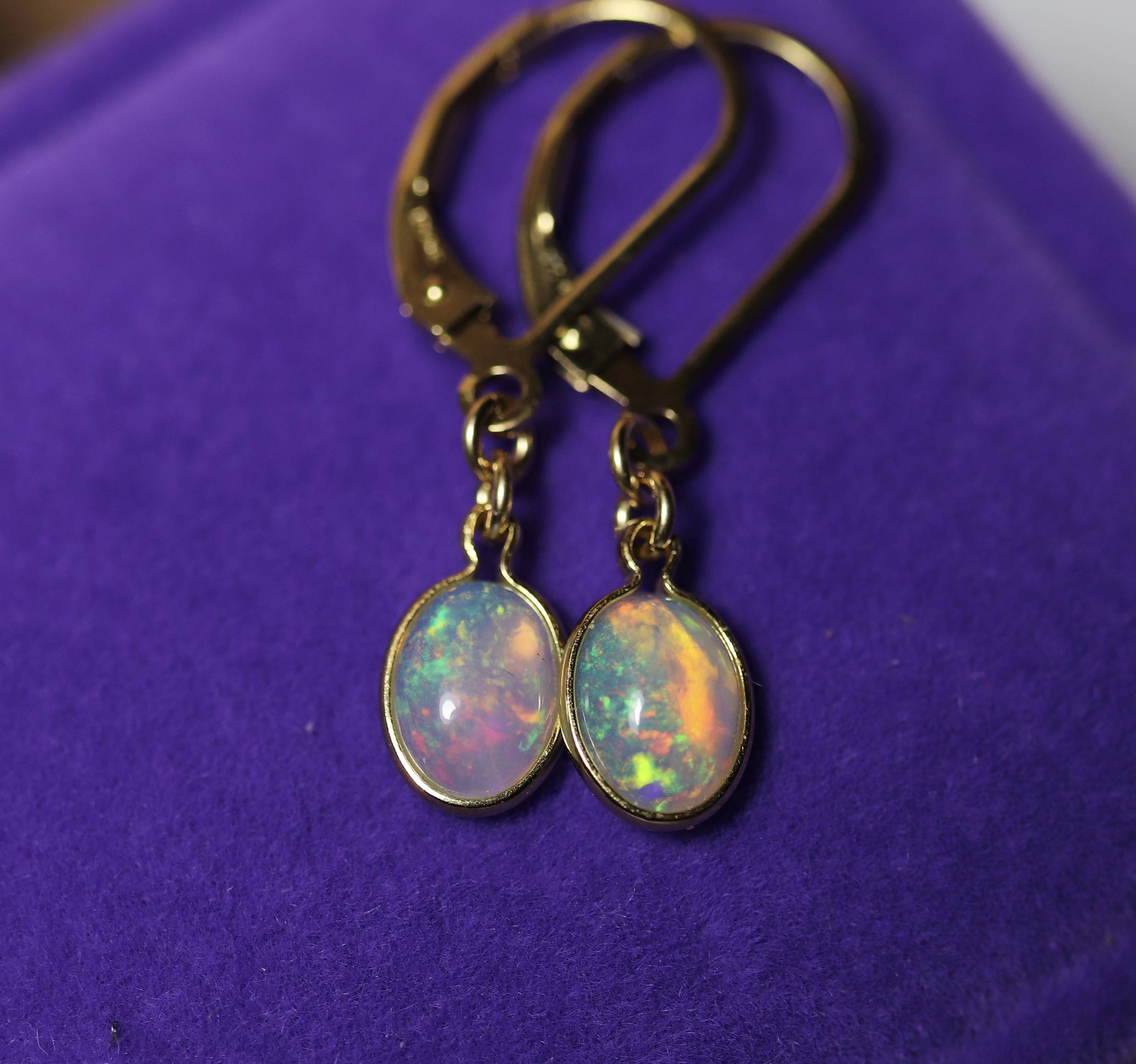 genuine australian opal earrings caymancode handmade bfc natural opals pendant necklace jewelry