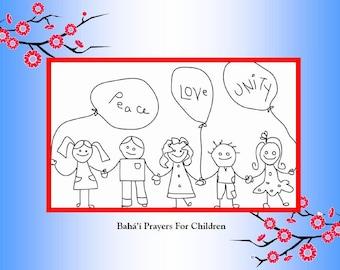 A Baha'i Prayer Book For Children