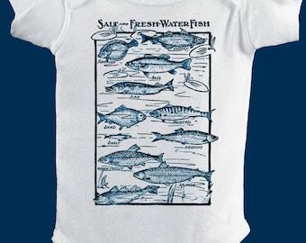 Baby Fishing Shirt Etsy