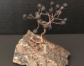 Lava Stone on Copper Gem Tree