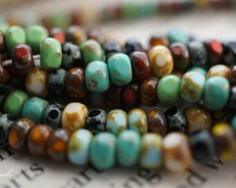 Picasso Seeds, Seed Beads, Beads