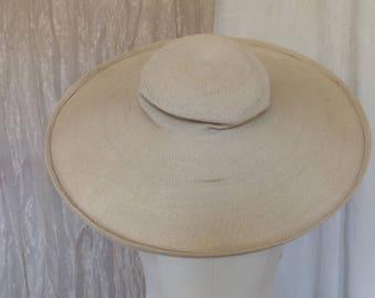 Patricia Underwood Straw Hat